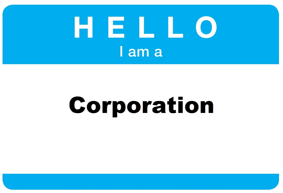 business entity types what are they creative industry law hello i am a corporation sticker