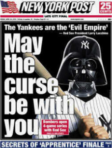 New York Post - Yankee cover